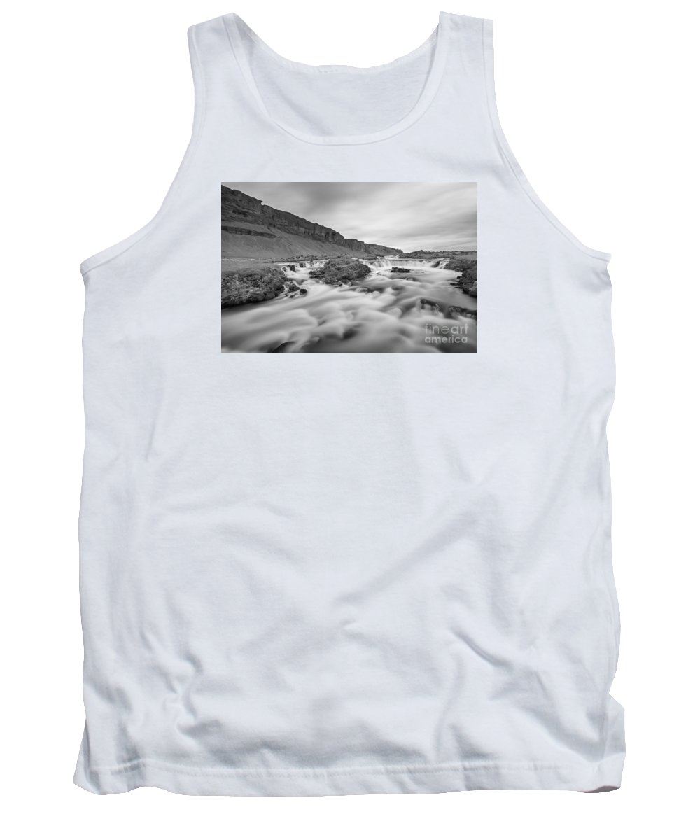 Iceland Tank Top featuring the photograph A River Runs Through It by Michael Ver Sprill