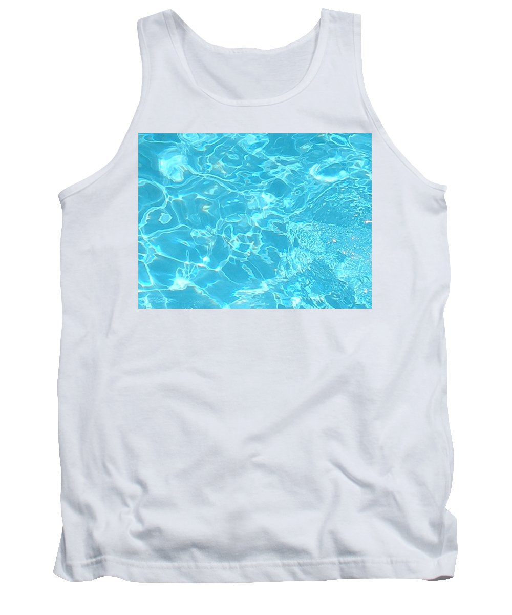 Water Tank Top featuring the photograph Aquatica by Maria Bonnier-Perez
