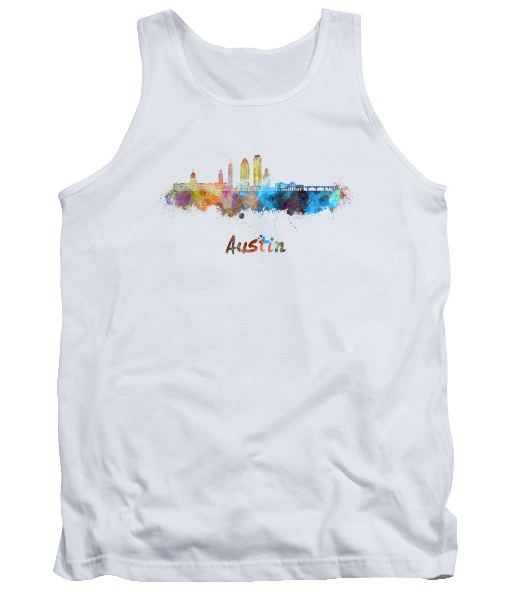 Austin Skyline Tank Tops