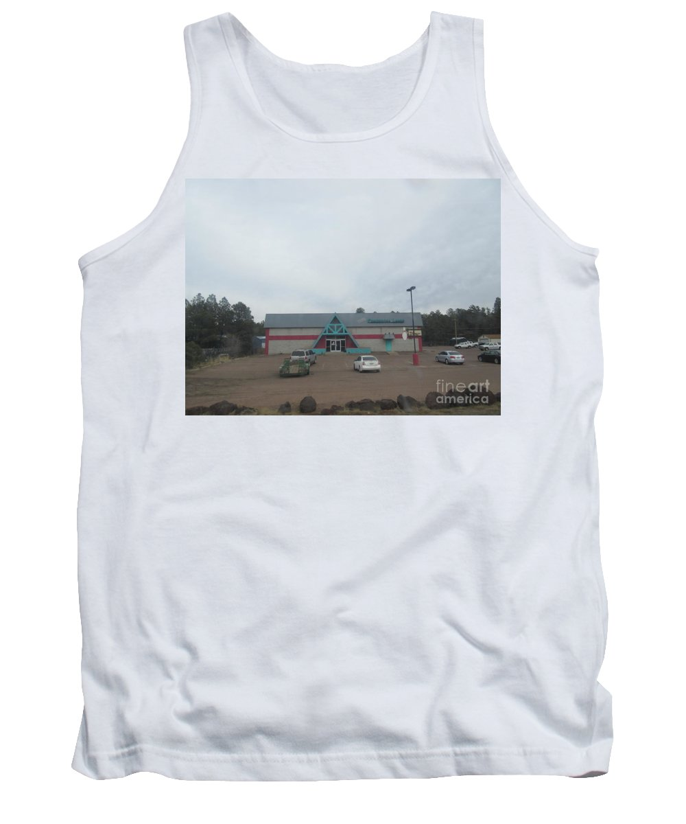Bowling Tank Top featuring the photograph Bowling Lanes by Frederick Holiday