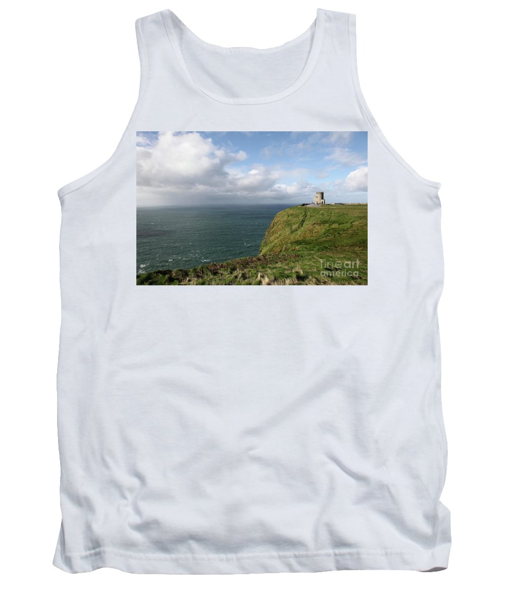 Ireland Island Green Cliffsofmoher Cliffs Of Moher Tank Top featuring the photograph Cliffs Of Moher by Daniel Klein