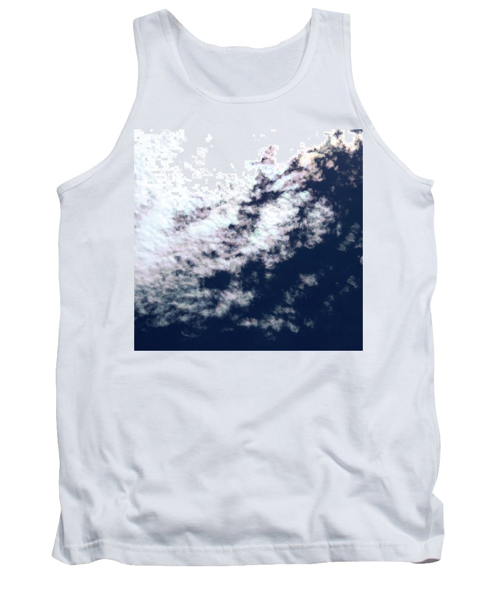 Strange Clouds Tank Top featuring the photograph Cloud 14 by Kit Kay