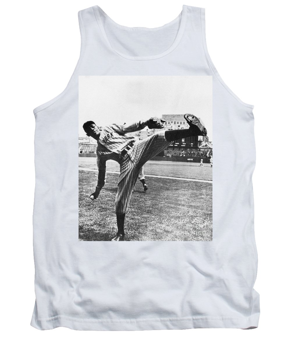 20th Century Tank Top featuring the photograph Leroy R. Paige (1906-1982) by Granger