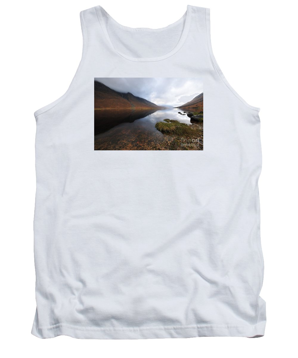 Loch Etive Tank Top featuring the photograph Loch Etive by Smart Aviation