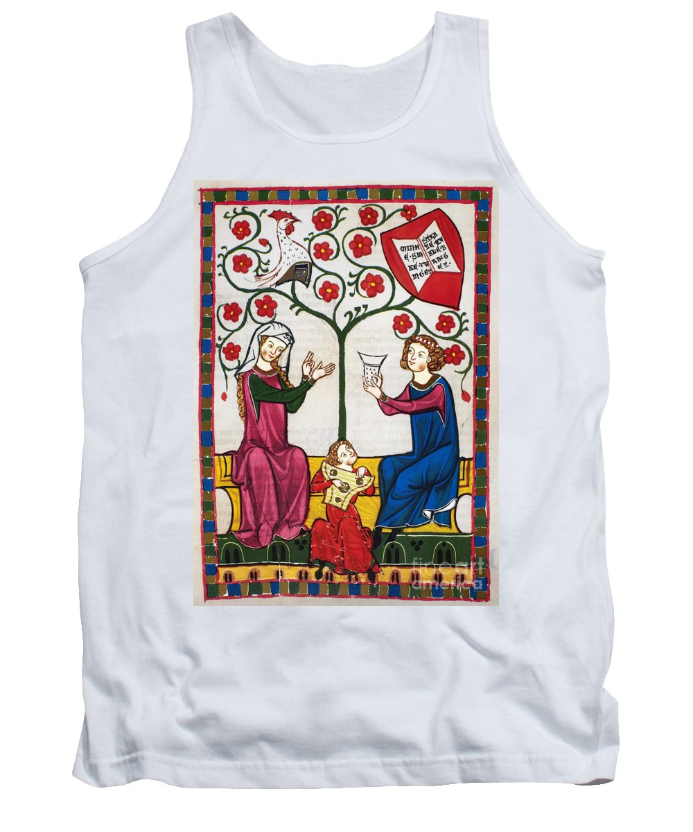 14th Century Tank Top featuring the photograph Minnesinger Lieder by Granger