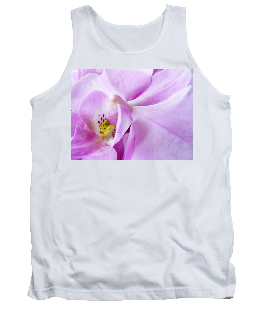 Orchid Tank Top featuring the photograph Orchid by Daniel Csoka