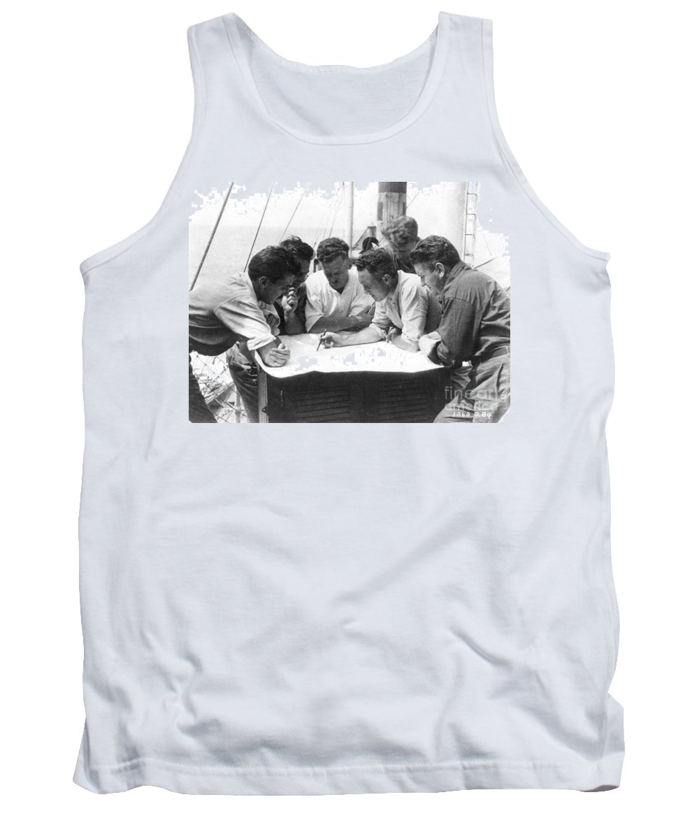 1928 Tank Top featuring the painting Richard Evelyn Byrd by Granger