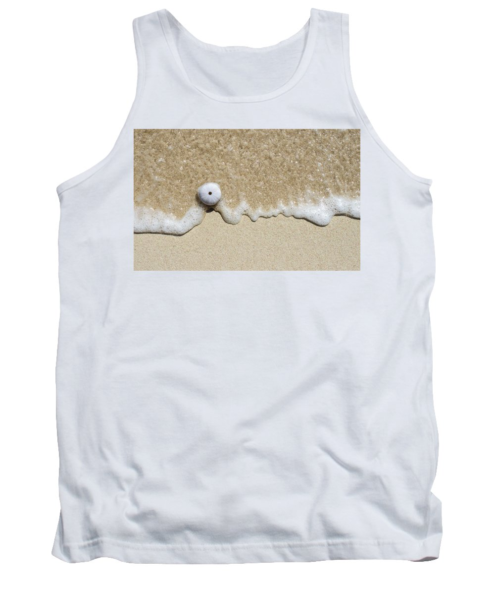 Antigua And Barbuda Tank Top featuring the photograph Sea Urchin by Ferry Zievinger