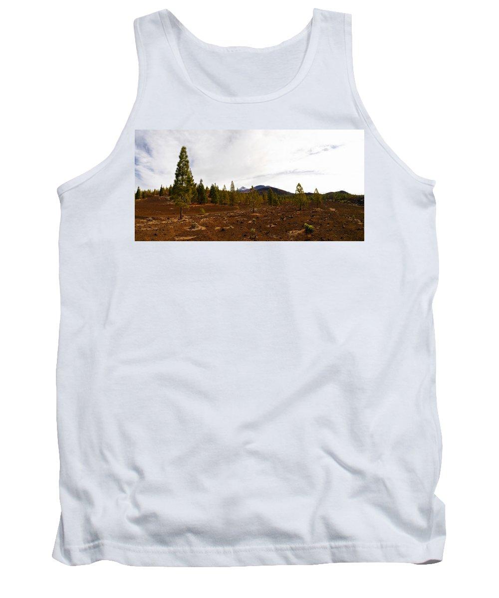 Landscape Tank Top featuring the photograph Teide Nr 11 by Jouko Lehto