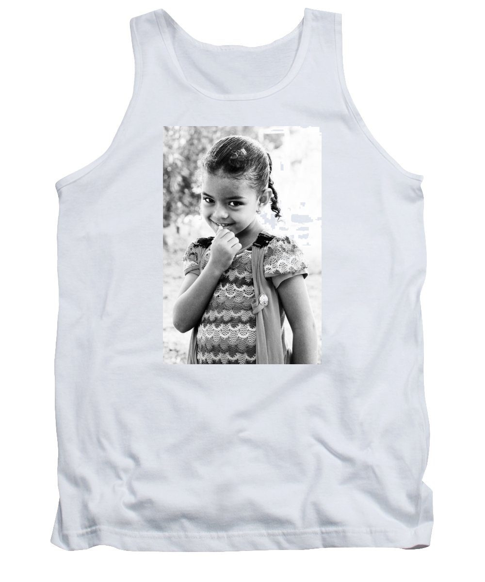 Hurghada Tank Top featuring the photograph That Look by Jez C Self