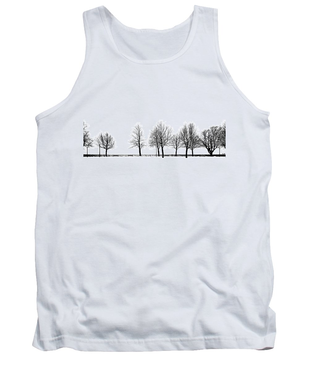 Tree Tank Top featuring the photograph Trees by Chevy Fleet