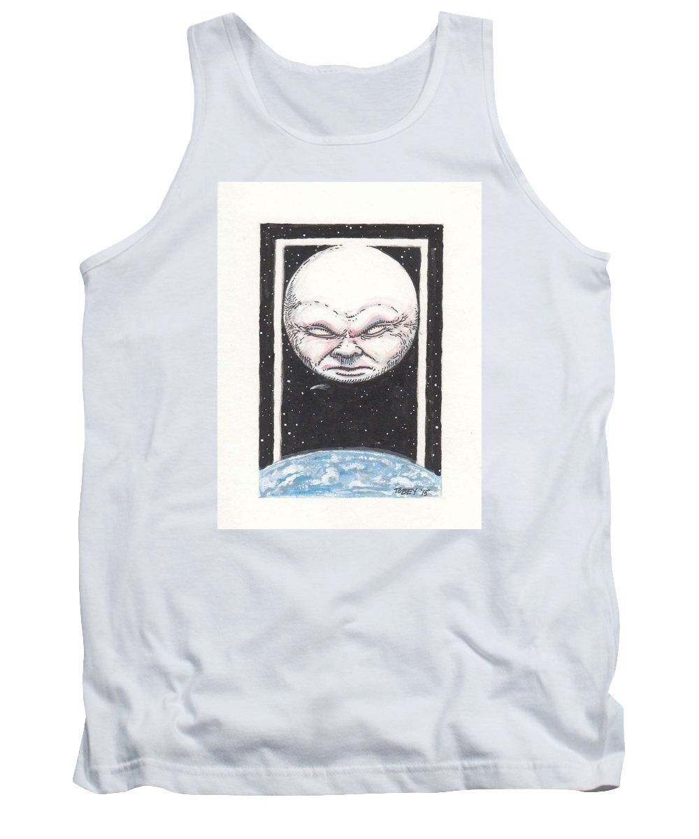 Furniture Tank Top featuring the drawing Untitled by Tobey Anderson