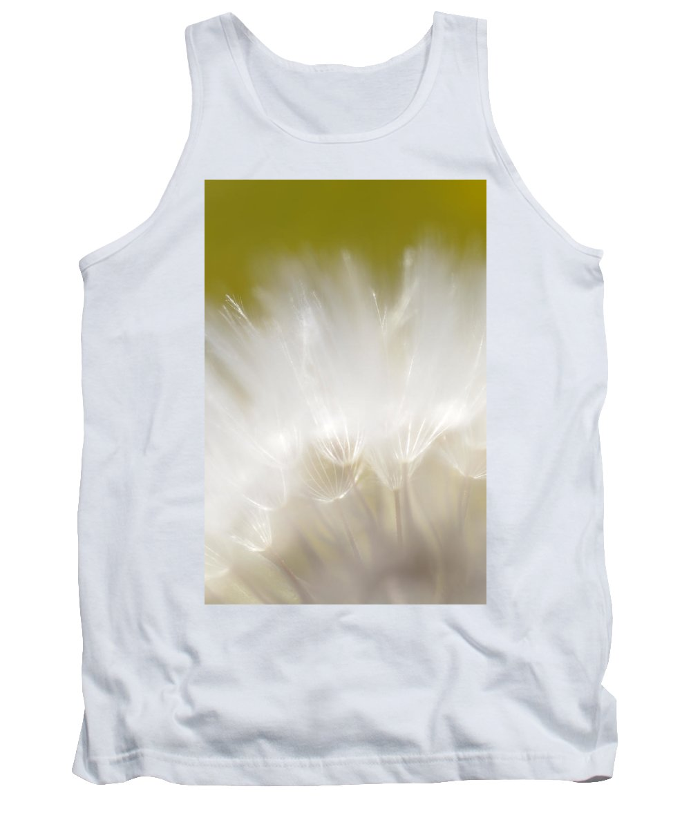 Red Tank Top featuring the photograph White Blossom 1 by Dubi Roman