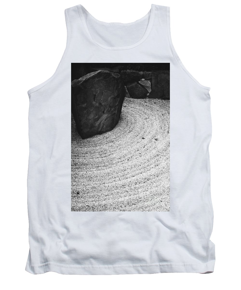 Tank Top featuring the photograph Zen Circle by Jamie Lynn