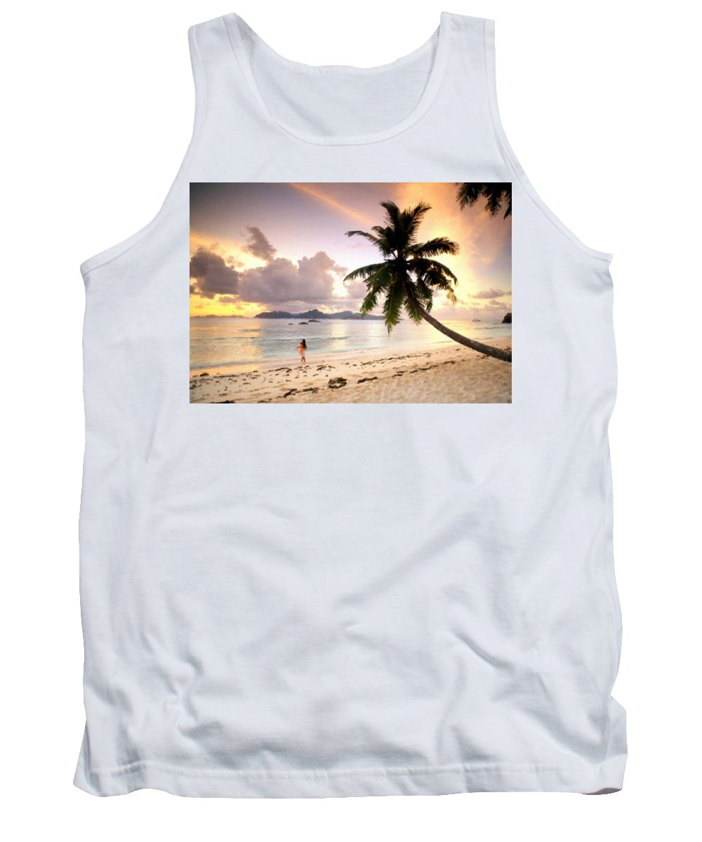 C Tank Top featuring the digital art Pictures Of Landscape by Usa Map