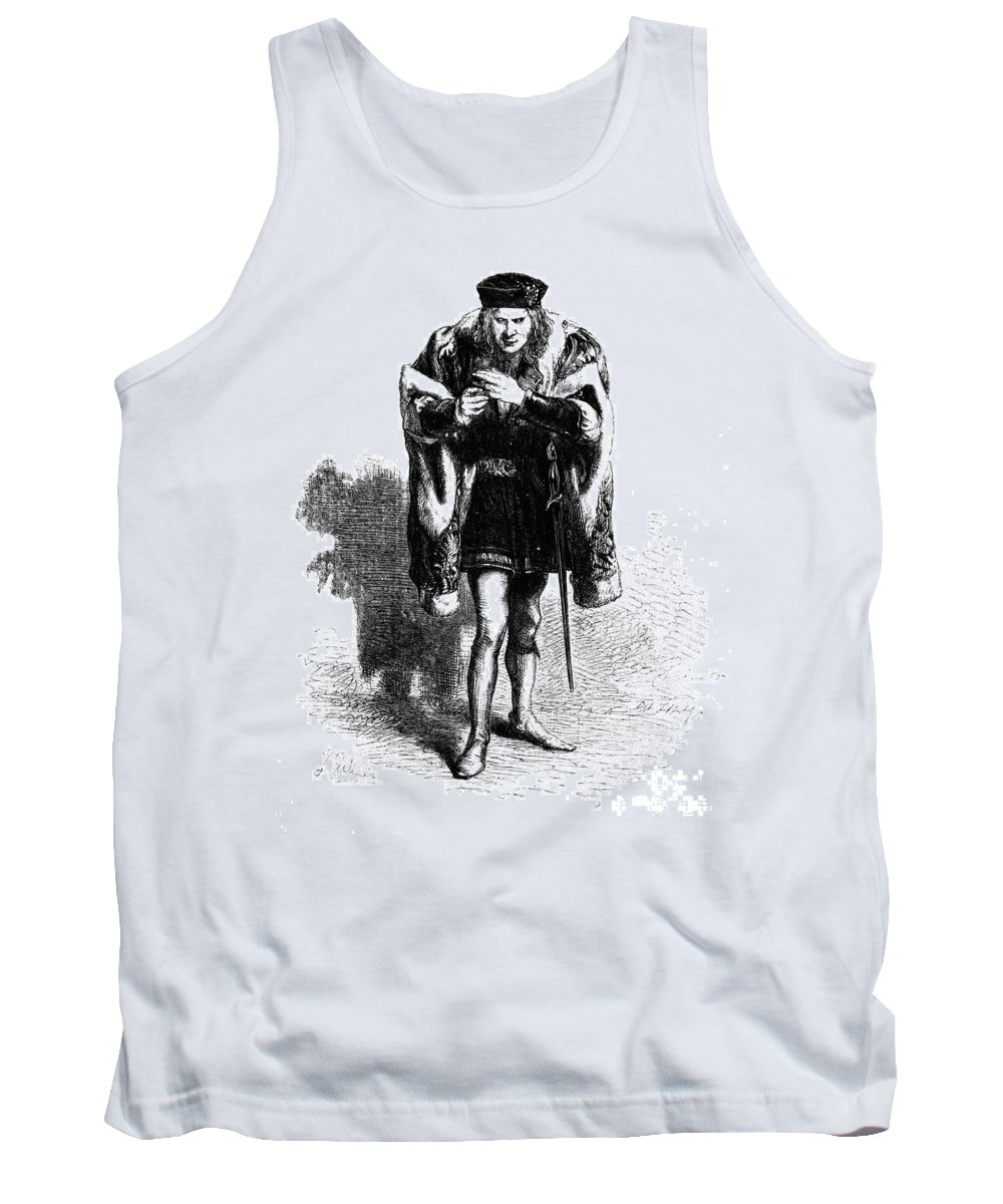 Elizabethan Tank Top featuring the photograph Shakespeare: Richard IIi by Granger