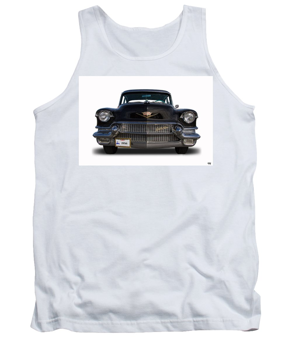 1956 Tank Top featuring the photograph 1956 Cadillac Sixty Special by Nick Gray
