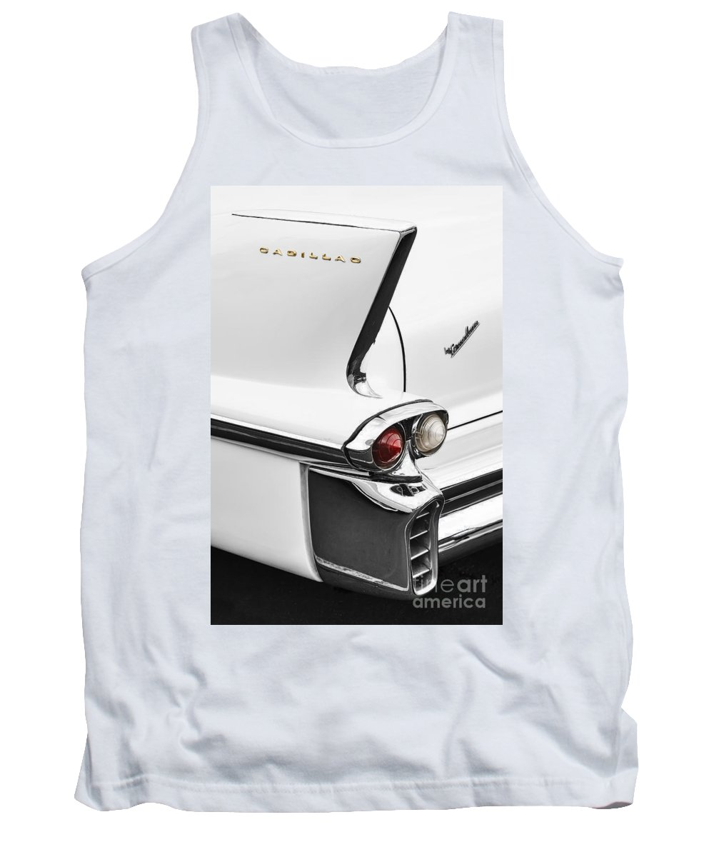 Classic Tank Top featuring the photograph 1958 Fin by Dennis Hedberg