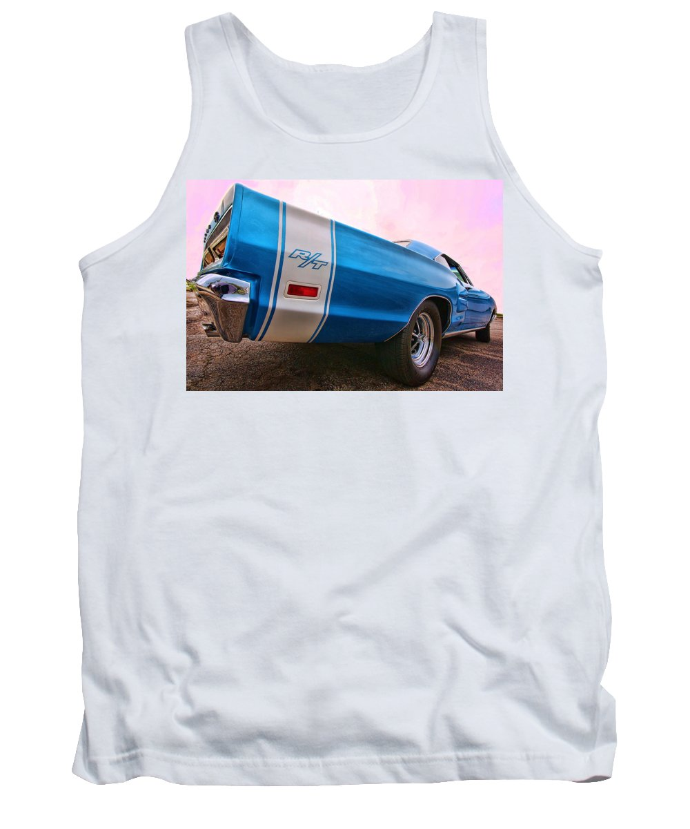 1969 Tank Top featuring the photograph 1969 Dodge Coronet Rt by Gordon Dean II
