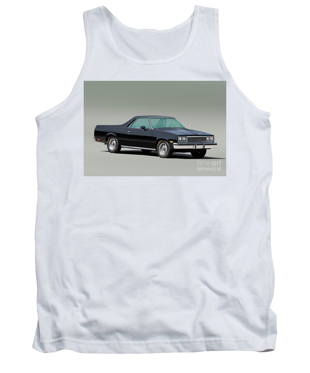Automobile Tank Top featuring the photograph 1983 Chevrolet El Camino 1 by Dave Koontz