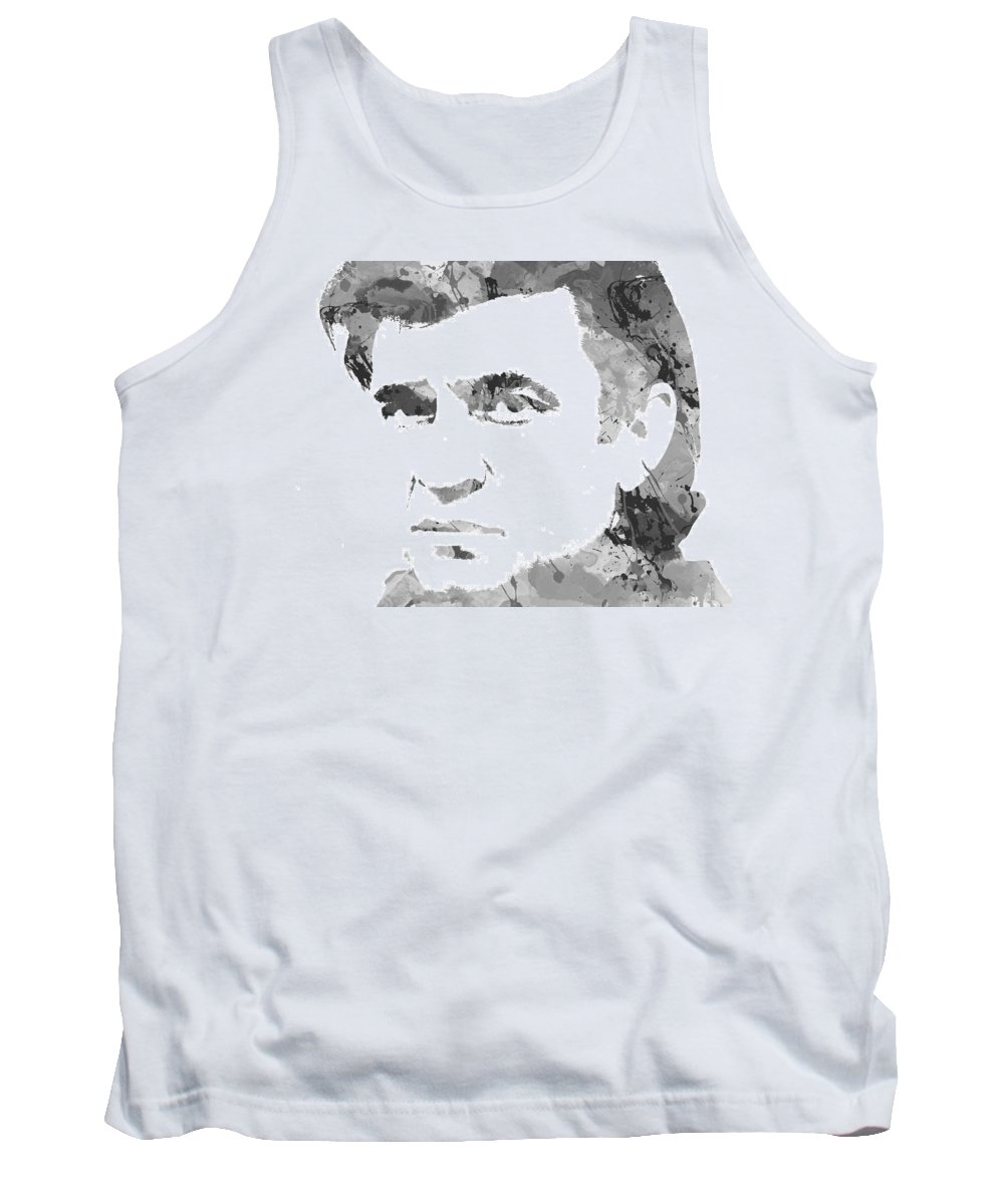 Classic Tank Top featuring the photograph American Legend Johnny Cash by Chris Smith
