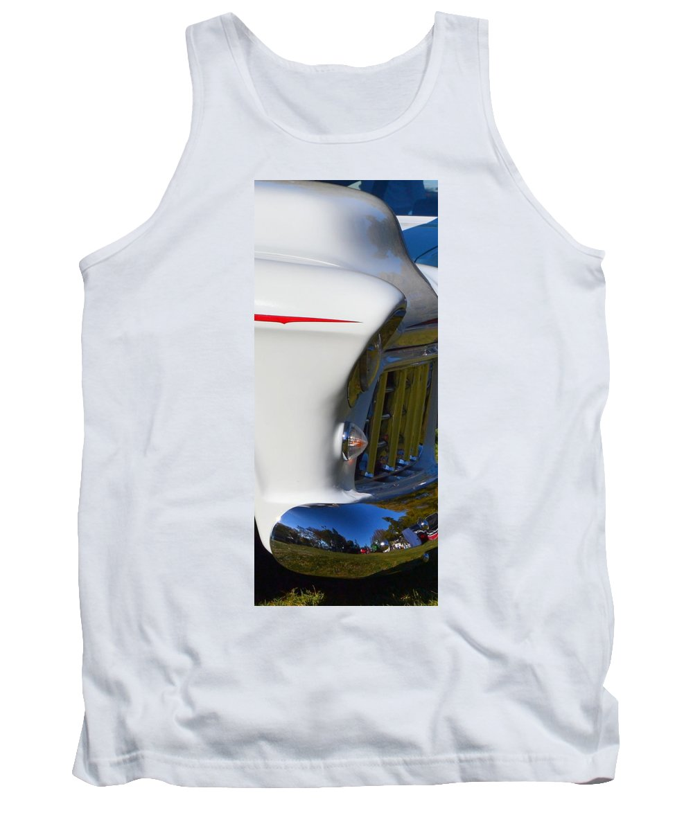 Tank Top featuring the photograph Chevy Pickup by Dean Ferreira