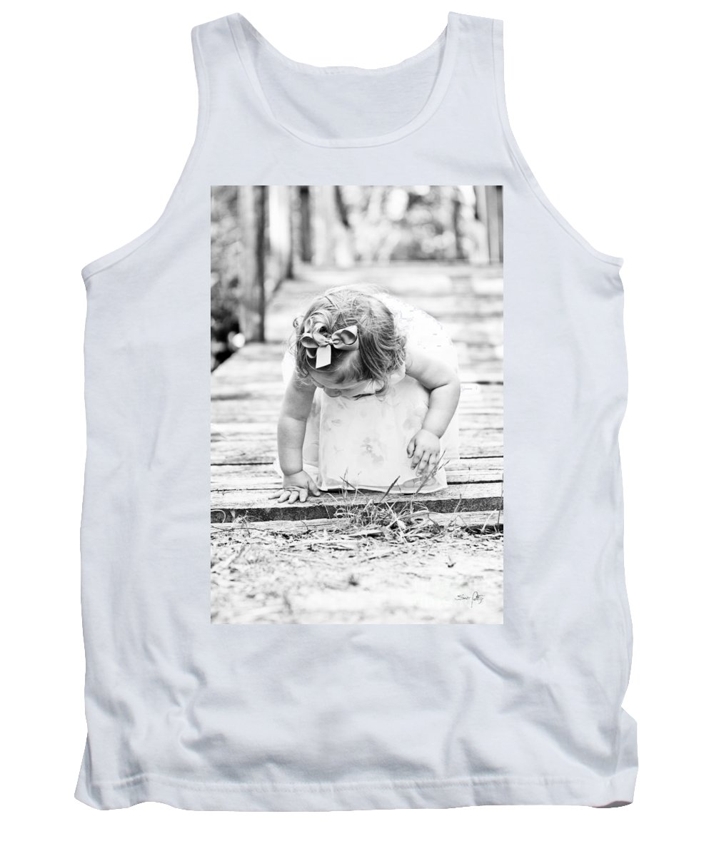 Child Tank Top featuring the photograph Discovery by Scott Pellegrin