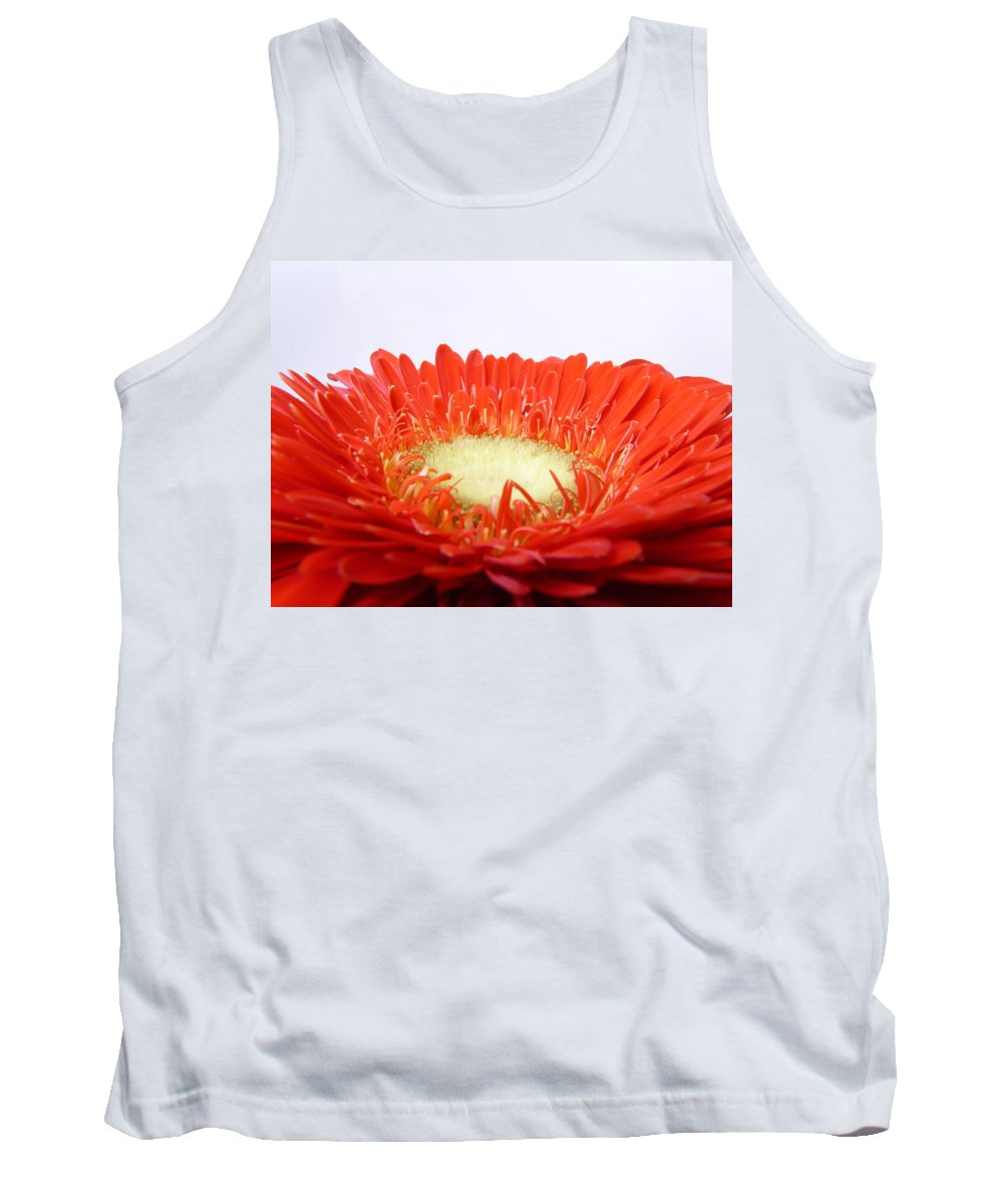 Gerbera Tank Top featuring the photograph Gerbera by Daniel Csoka