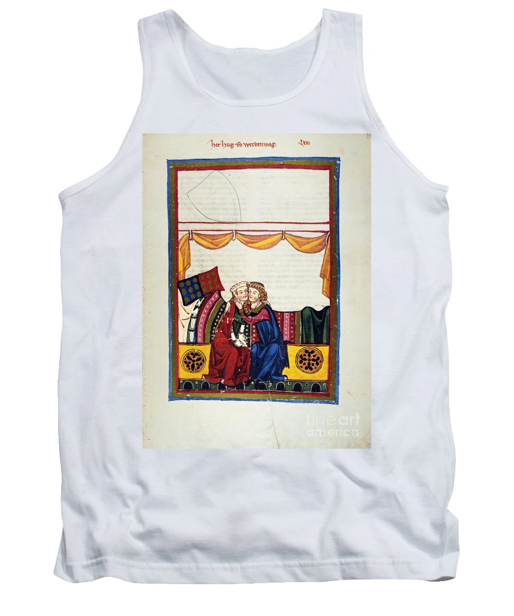14th Century Tank Top featuring the photograph Heidelberg Lieder, 14th C by Granger