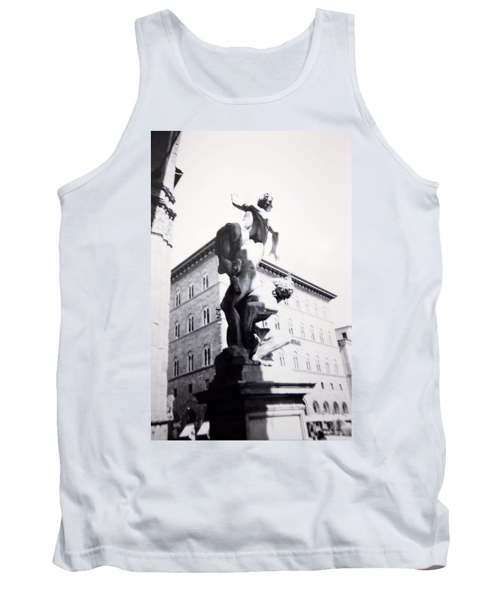 Florence Tank Top featuring the photograph Palazzo Vecchio by Kurt Hausmann