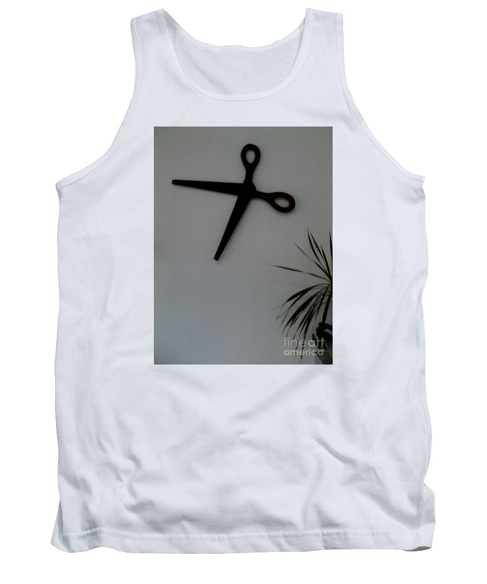 Tank Top featuring the painting Reflection by Dutch MARCHING