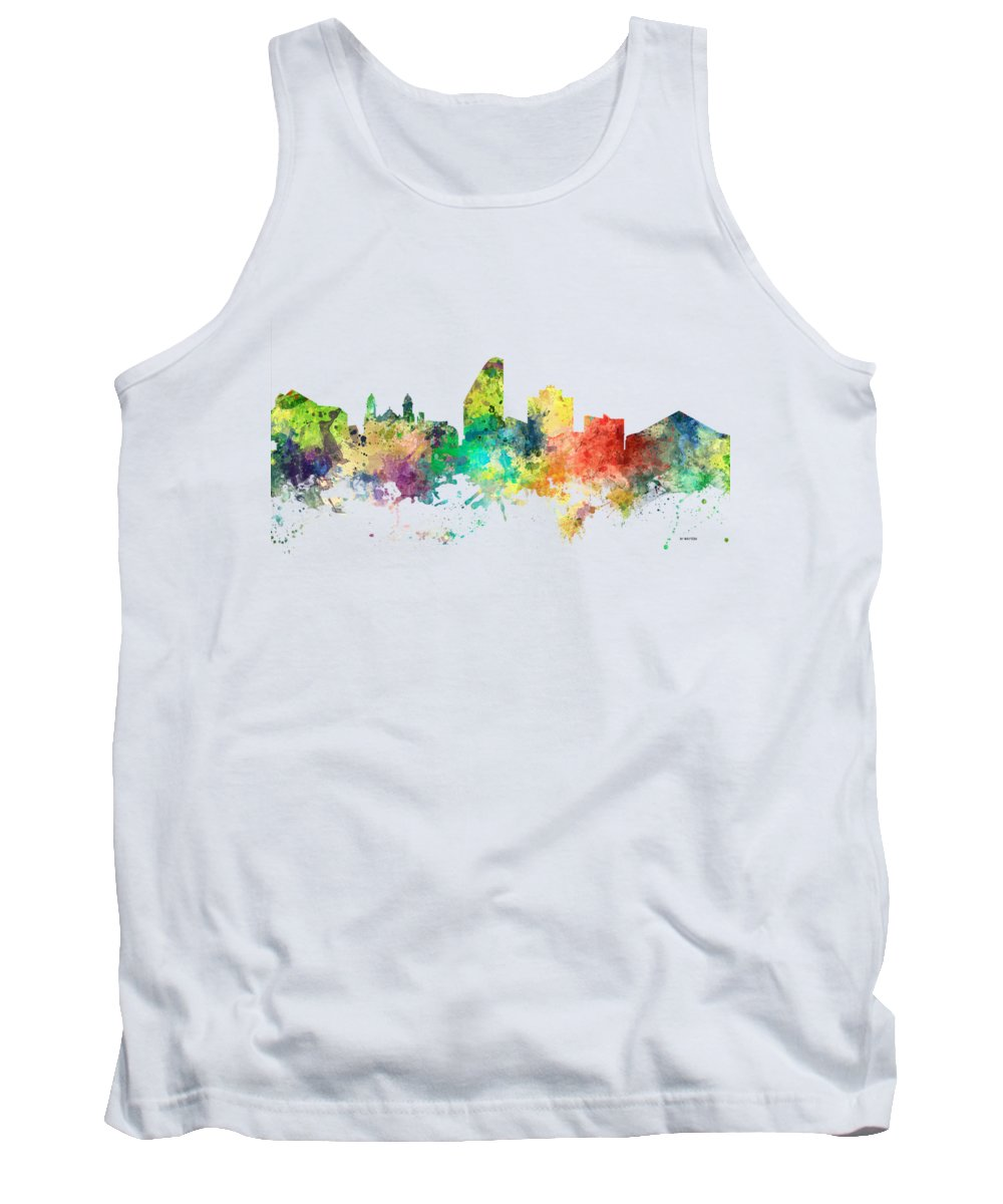 San Jose Digital Art Tank Tops