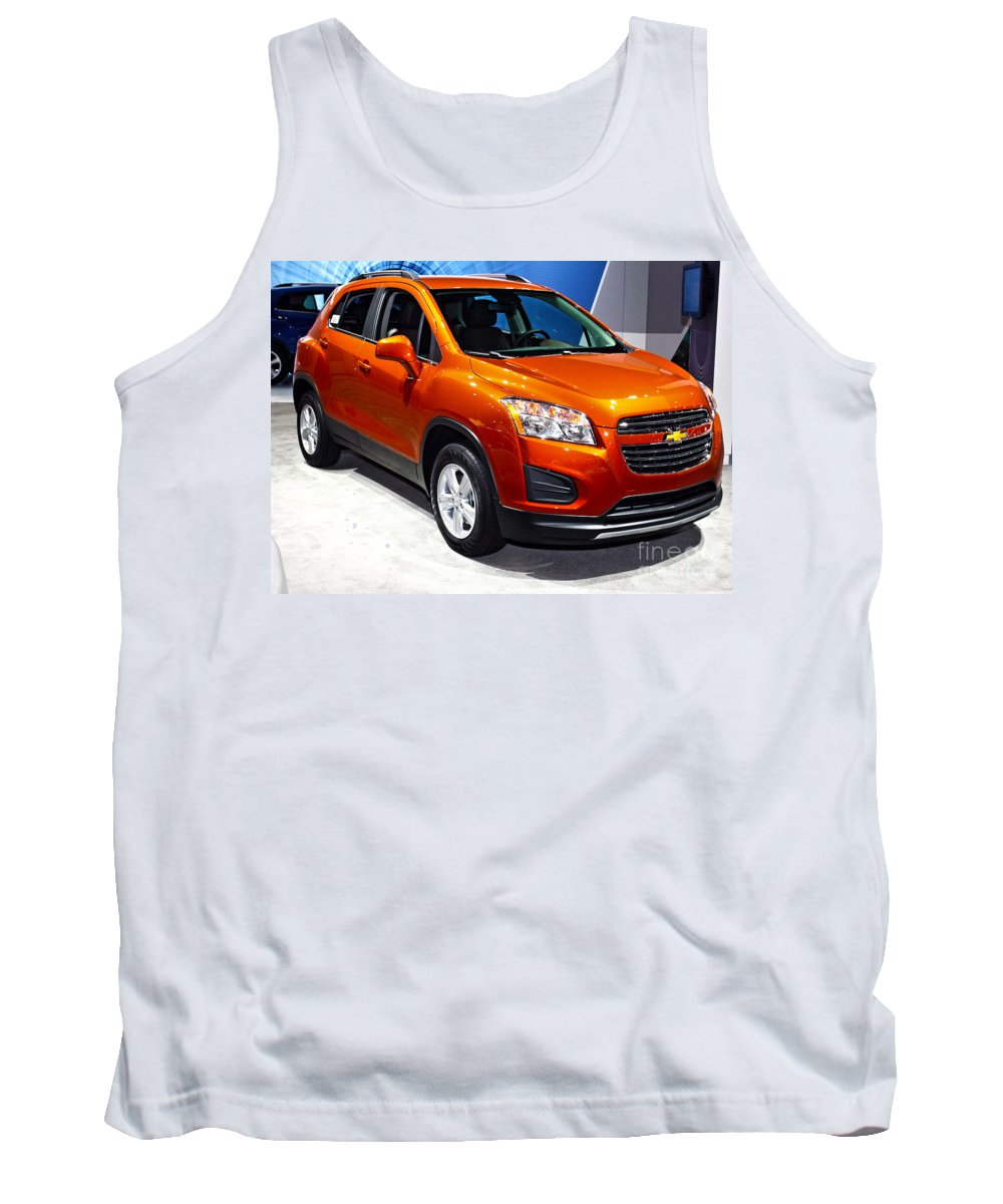 Auto Tank Top featuring the photograph 2015 Chevrolet Trax No 1 by Alan Look