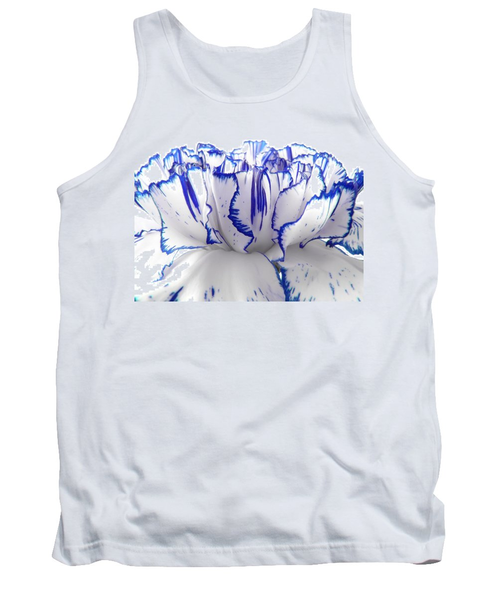 Carnation Tank Top featuring the photograph Carnation by Daniel Csoka