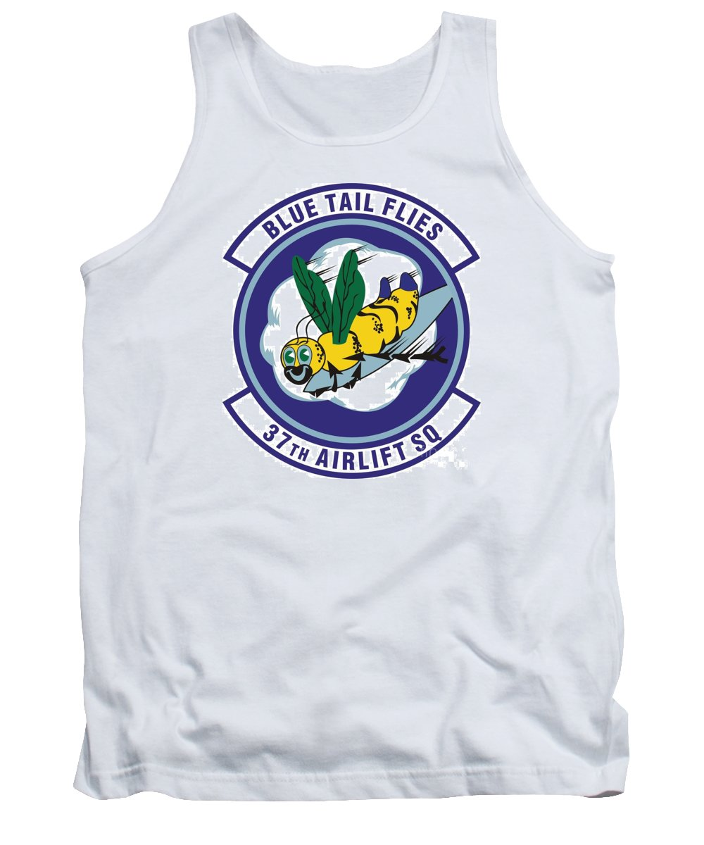 Langley Afb Virginia Tank Top featuring the photograph 37th Tactical Airlift Squadron by David Bearden