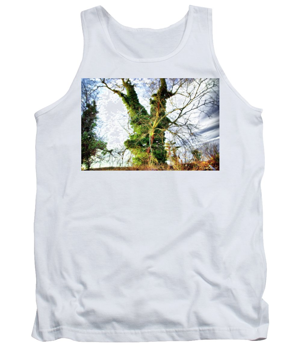 2d Tank Top featuring the photograph The Tree by Brian Wallace