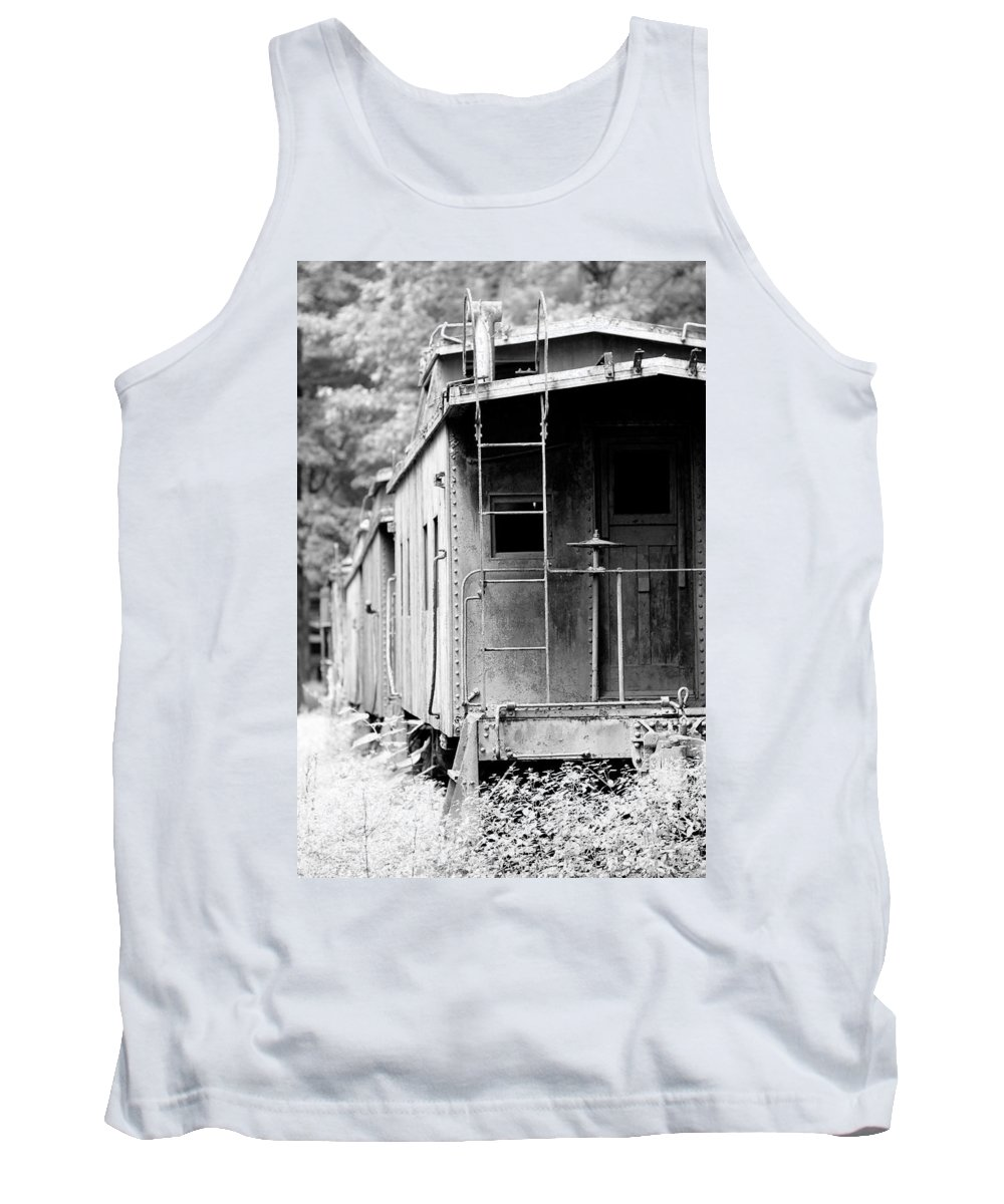 Train Tank Top featuring the photograph Train by Sebastian Musial