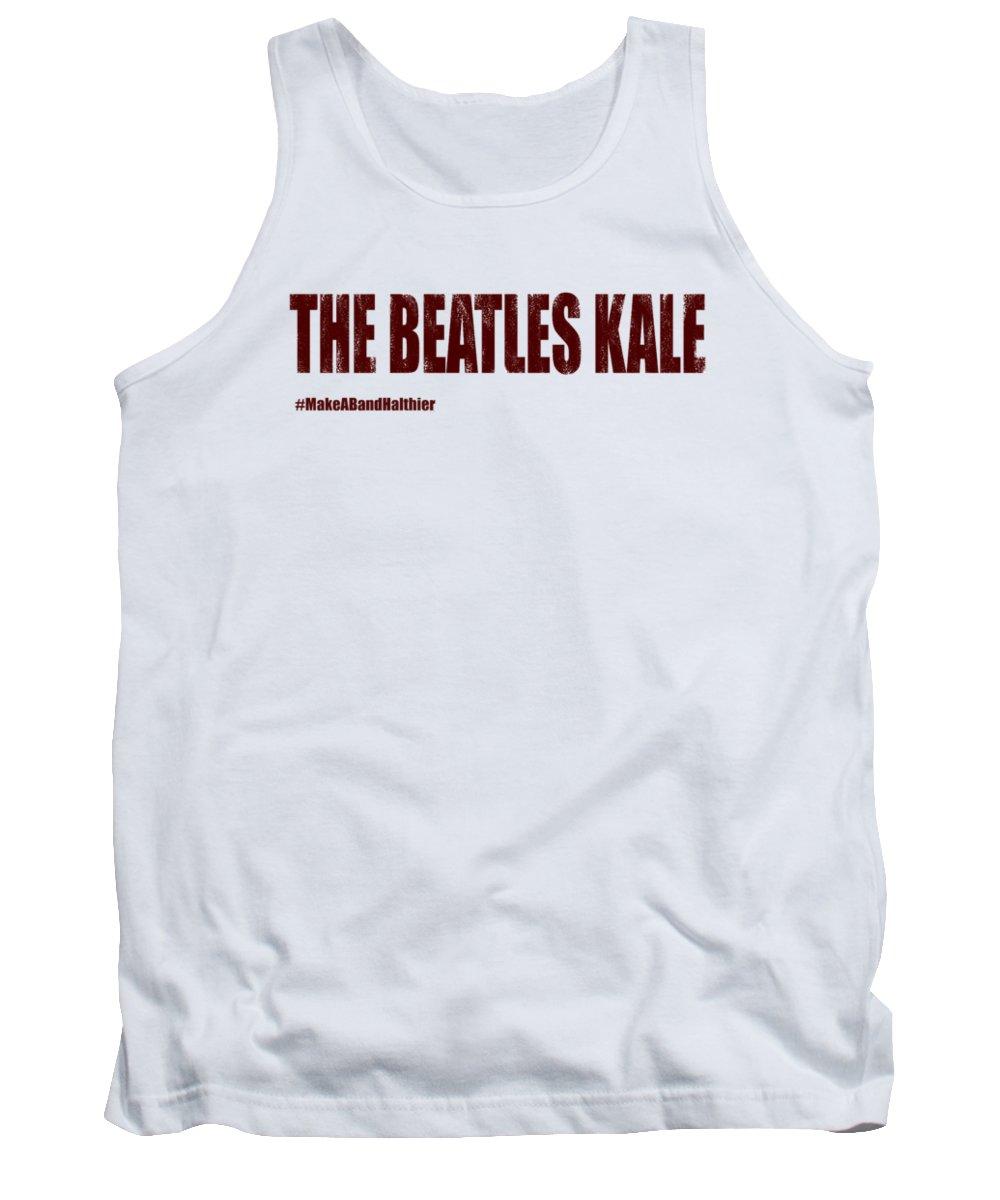 The Beatles Tank Top featuring the digital art The Beatles by Jofi Trazia