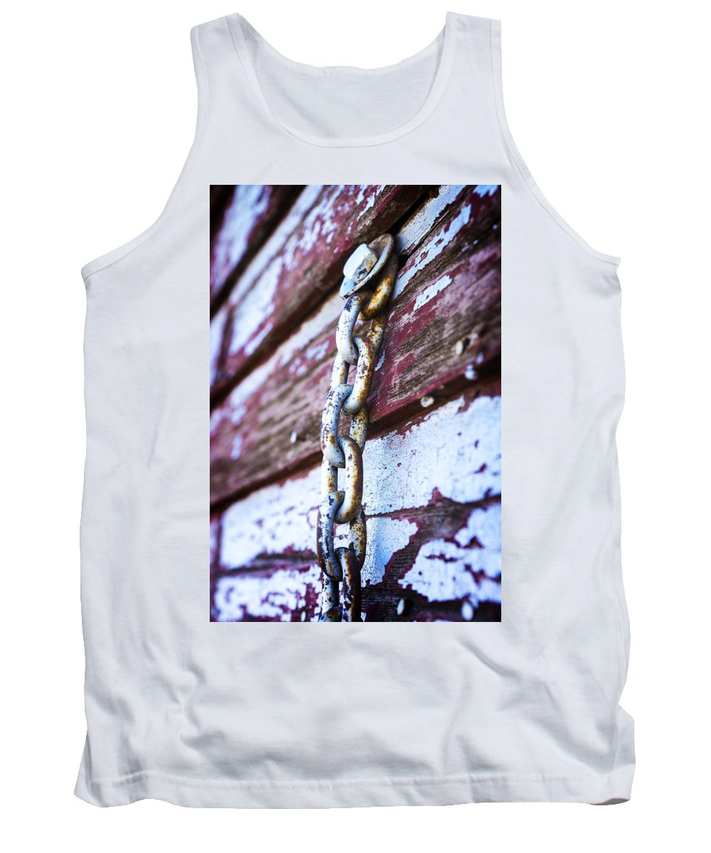 Chain Tank Top featuring the photograph Vintage Grain Elevator by Donald Erickson