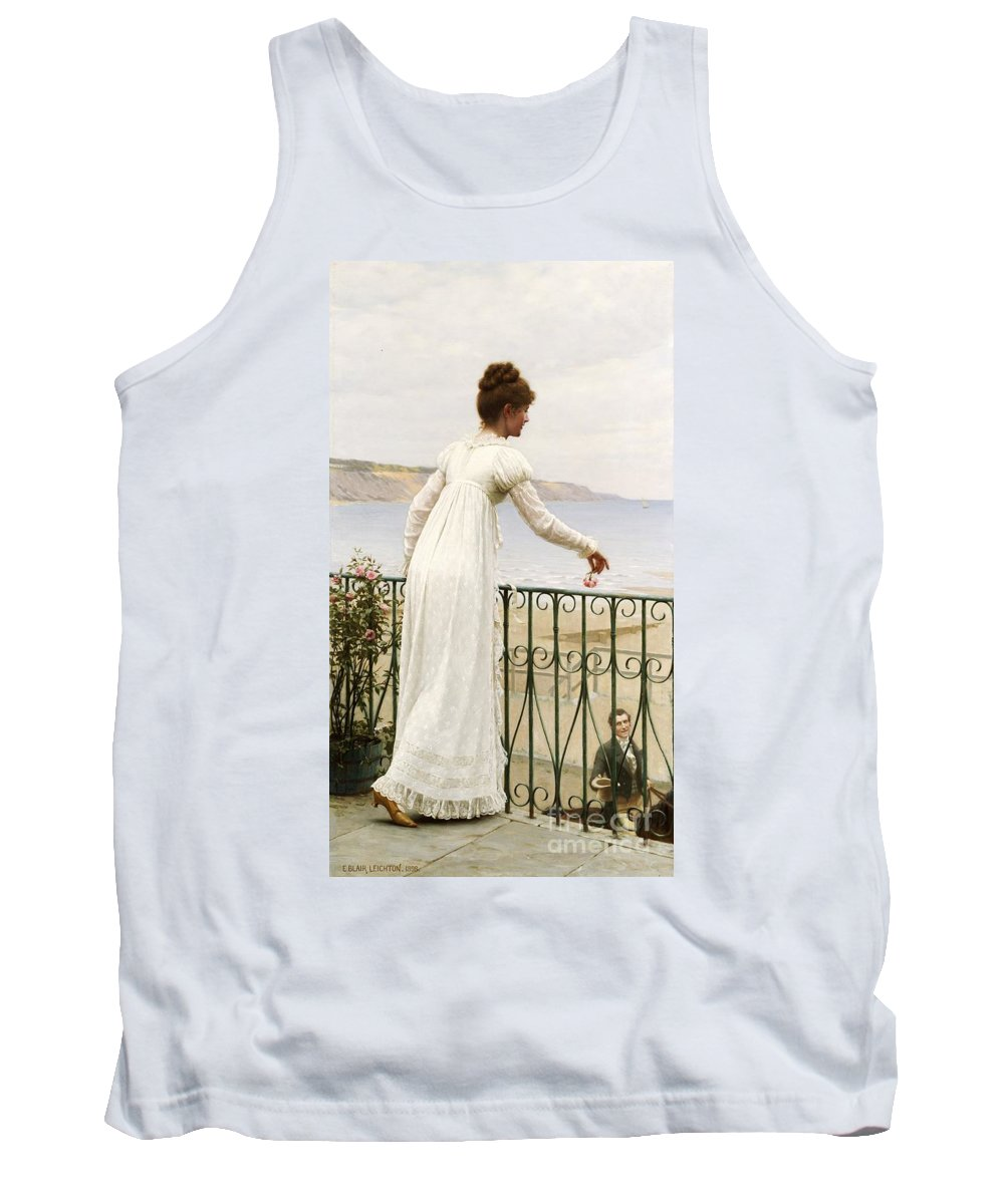 A Favour Tank Top featuring the painting A Favour by Edmund Blair Leighton