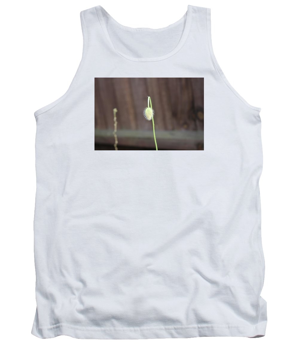 Flower Spring Bloom Tank Top featuring the photograph A Floer Bud by Michaela Hughes