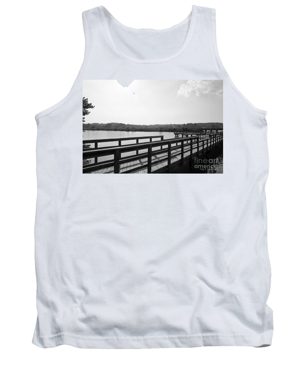 Landscape Tank Top featuring the photograph A Matter Of Perspective by Todd Blanchard