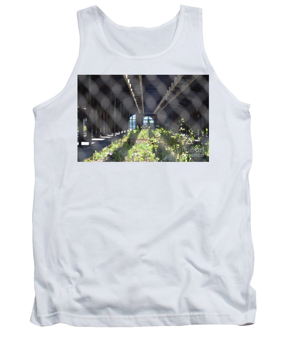 Abandoned Tank Top featuring the photograph Abandoned Cnj Terminal by Des Brownlie
