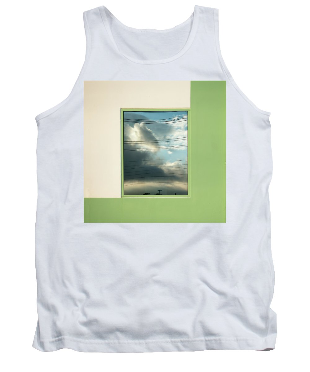 Urban Tank Top featuring the photograph Abstritecture 19 by Stuart Allen