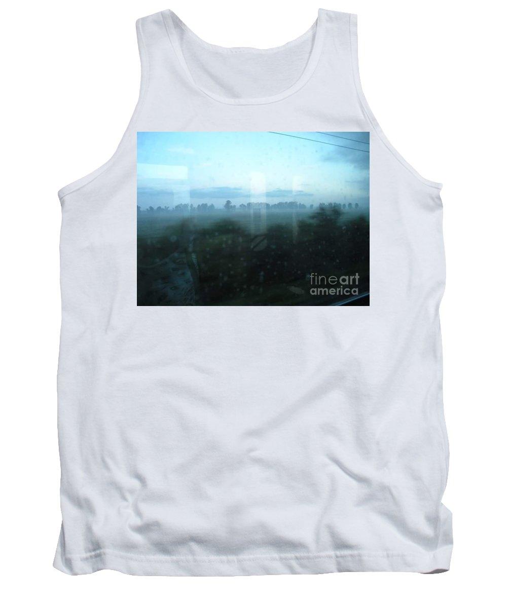 Tank Top featuring the digital art Across This Horizon by Vanessa bush