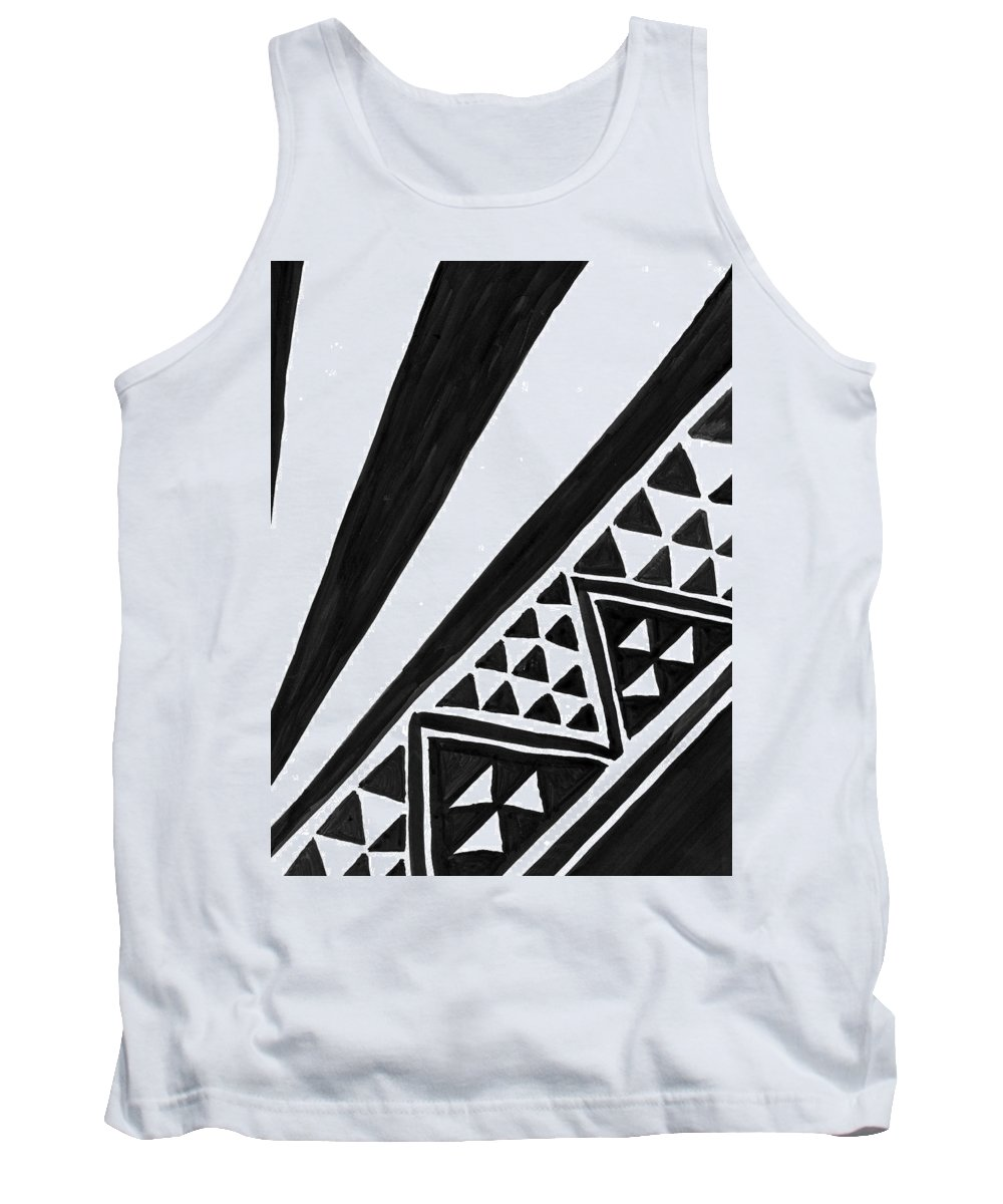Ink Tank Top featuring the painting Africa by Malachai Marzolf