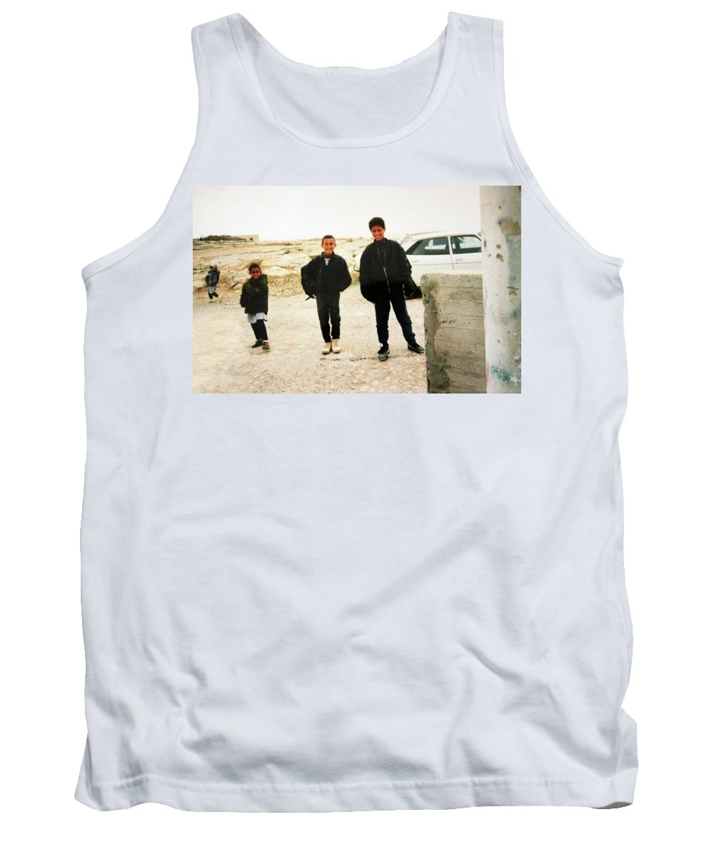 Kids Tank Top featuring the photograph After School by Munir Alawi