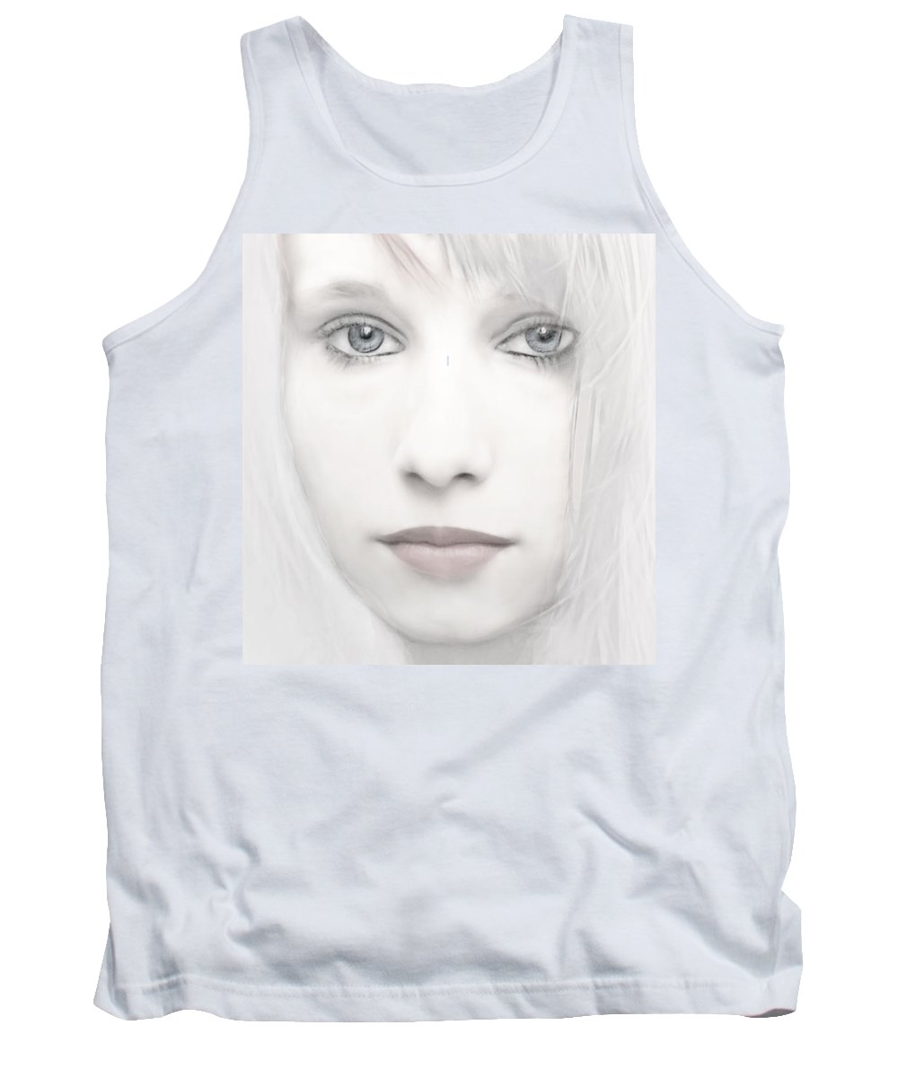 Woman Tank Top featuring the photograph Alabaster-face by Joachim G Pinkawa