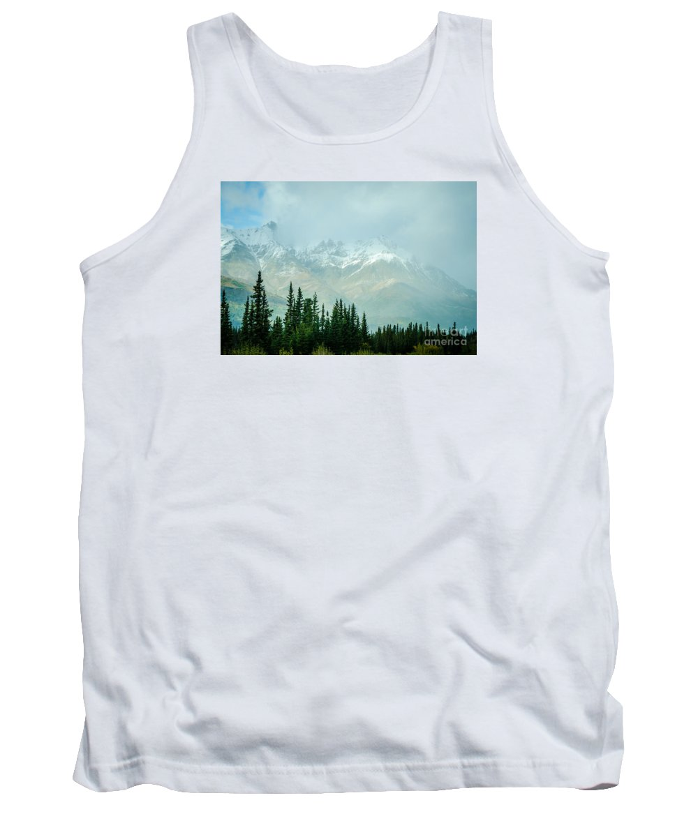 2015 Tank Top featuring the photograph Alaska Range 2 by Mary Carol Story