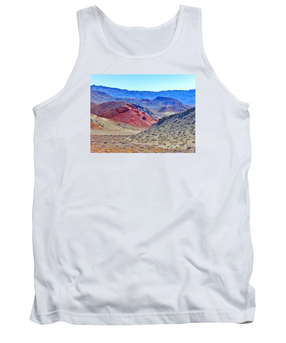 Sky Tank Top featuring the photograph Alien by Marilyn Diaz